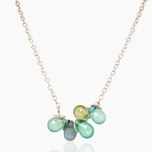 Load image into Gallery viewer, Mini Multi-Gem Sterling Necklace