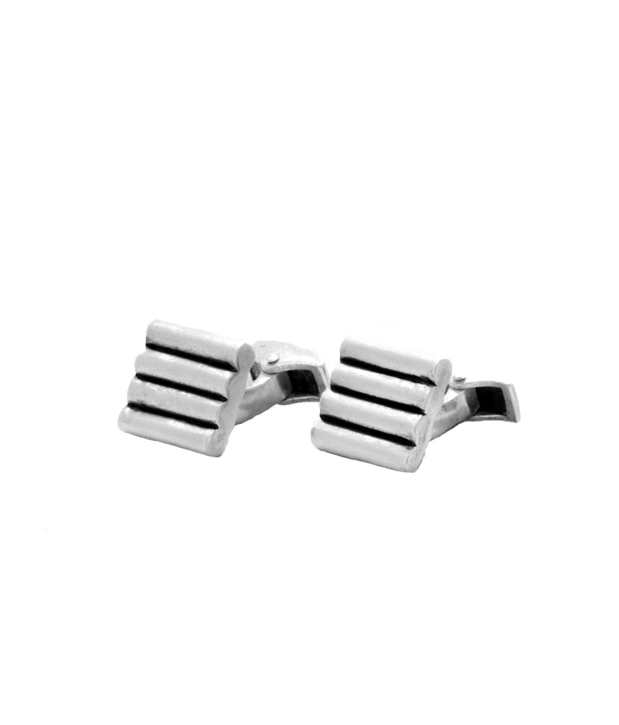 Sterling Silver Mercer Cuff Links