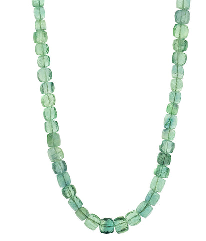 Fluorite Chunky Necklace