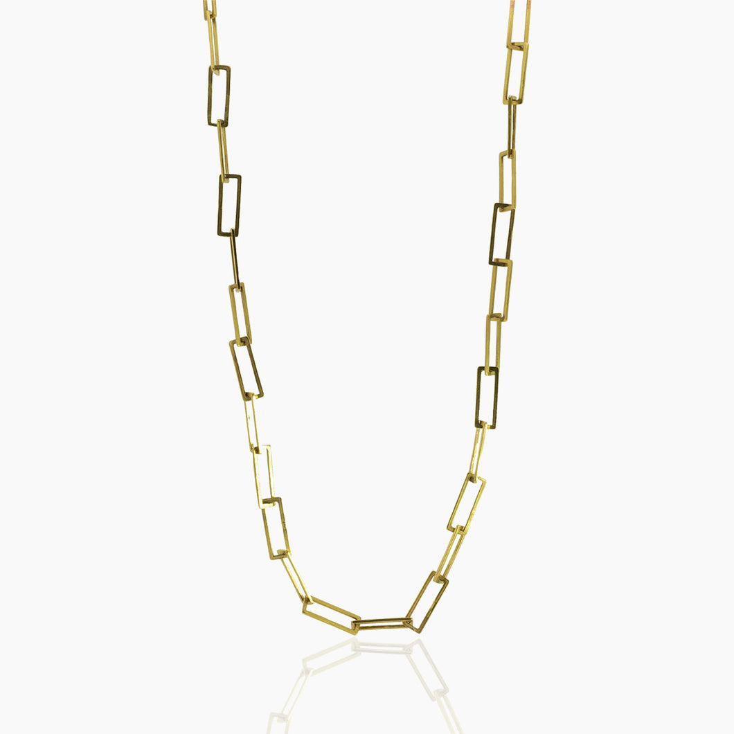 Square Link Chain in 10K Gold