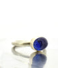 Tanzanite Smooth Cabochon Ring