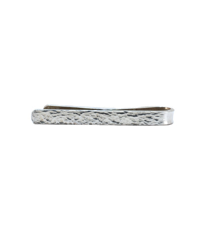 'Mad Men' Hammered Sterling Tie Clip II