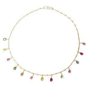 Tourmaline Drops Necklace