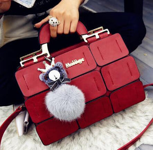 Aliwood famous brand Women Handbags luxury leather messenger bags-Handle Bags women handbag shoulder bag Female bags