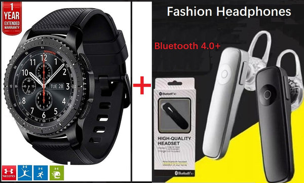 Man Wrist Watch & Bluetooth Headphone (Buy 2 free shipping.)