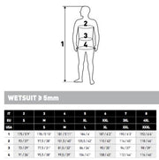 Dual (Jacket only) 7mm Wetsuit