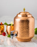 Copper Water Container / Dispenser
