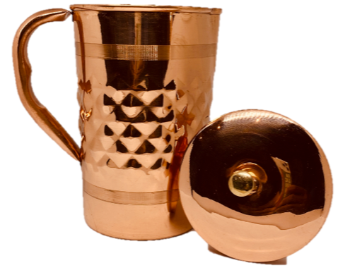 Pure Copper Water Jug - 1.5 Litre