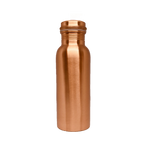 Matte Pure Copper Water Bottle