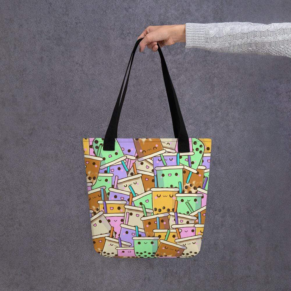Boba Collage Tote bag Bubble tea Boba Tea