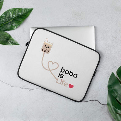 Boba is Life Laptop Sleeve Bubble tea Boba Tea