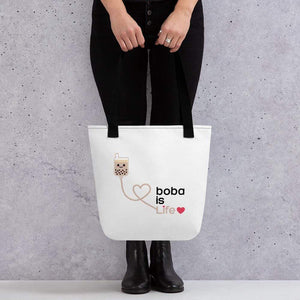 Boba is Life Tote bag Bubble tea Boba Tea