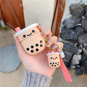 Boba Milk Tea Keyring Bubble tea Boba Tea