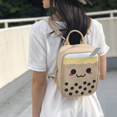 Boba Mini Backpack Bubble tea Boba Tea