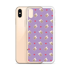 Cute Boba Milk Tea iPhone Case