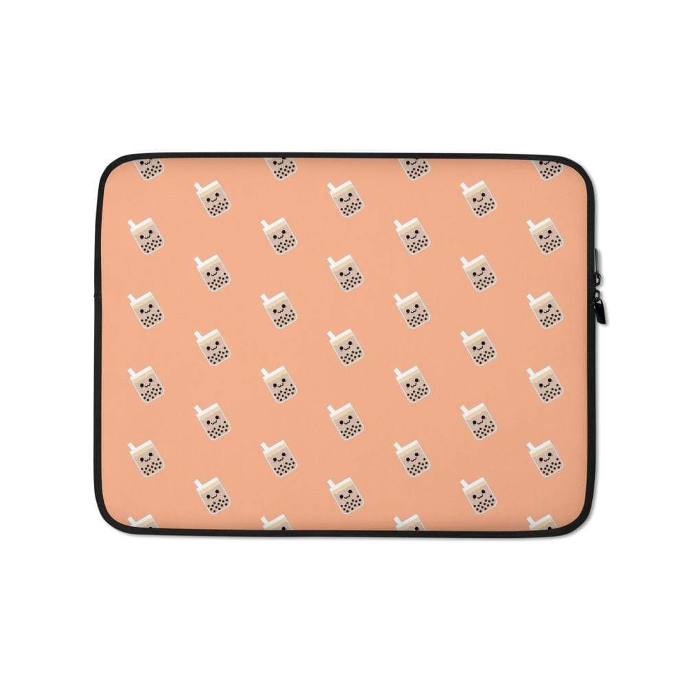 Cute Boba Tea Laptop Sleeve