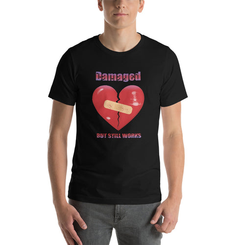 Damaged Heart Unisex T-Shirt