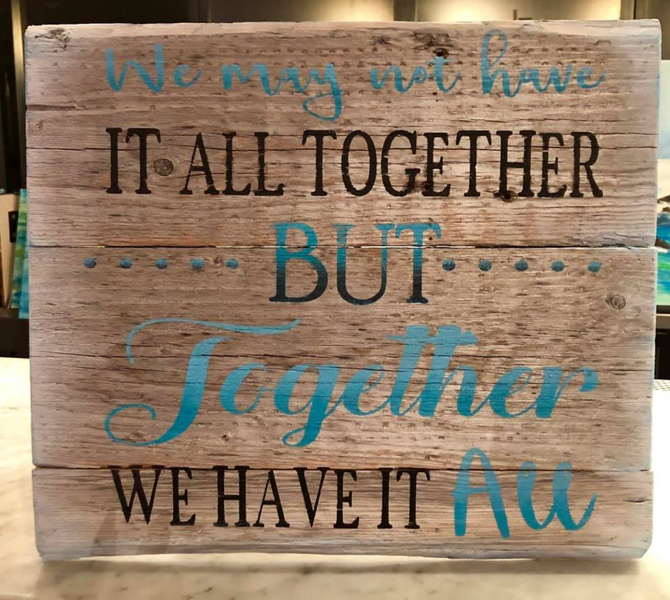 Rustic Farmhouse Family Wooden Sign