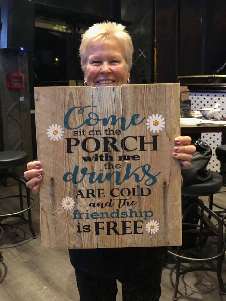 Porch Wood Sign Farmhouse Craft Kit