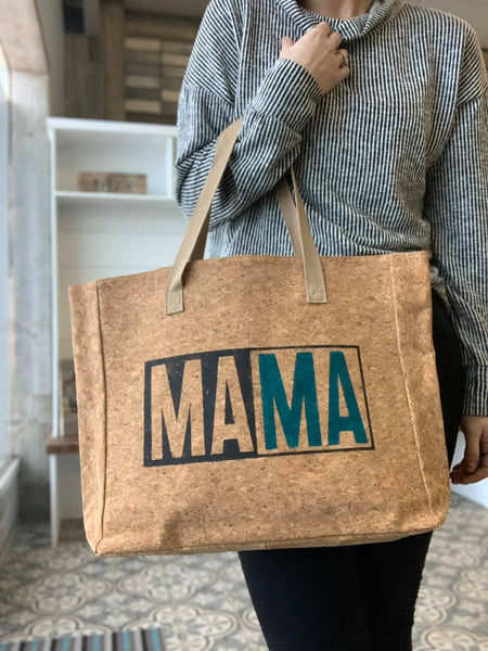 """MAMA"" Cork Leather Tote Craft Kit"