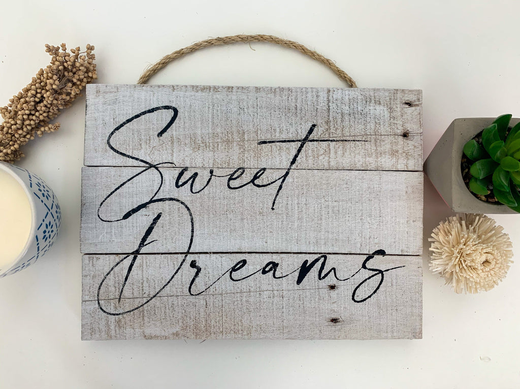 sweet dreams bedroom wall decor