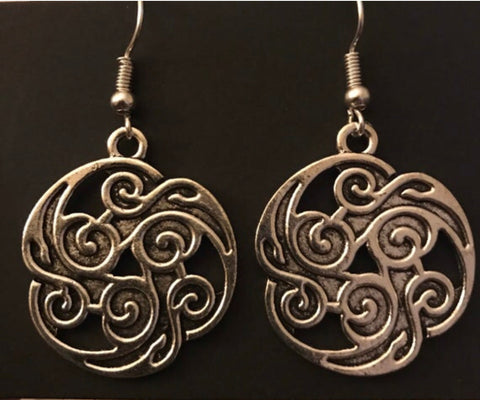 Celtic Flame Earrings
