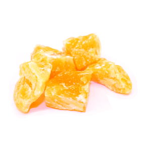 Orange Calcite - natural