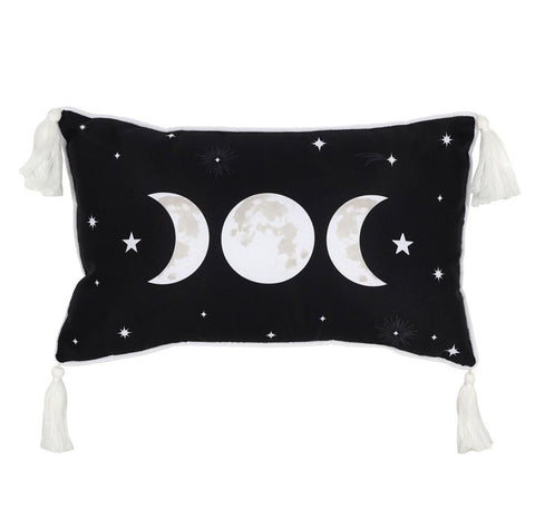 Triple Moon rectangle cushion