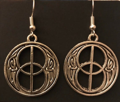 Vesica Piscis/Chalice Wells Earrings