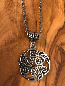 Celtic Flame Necklace