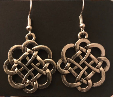 Celtic Infinity Knot Earrings
