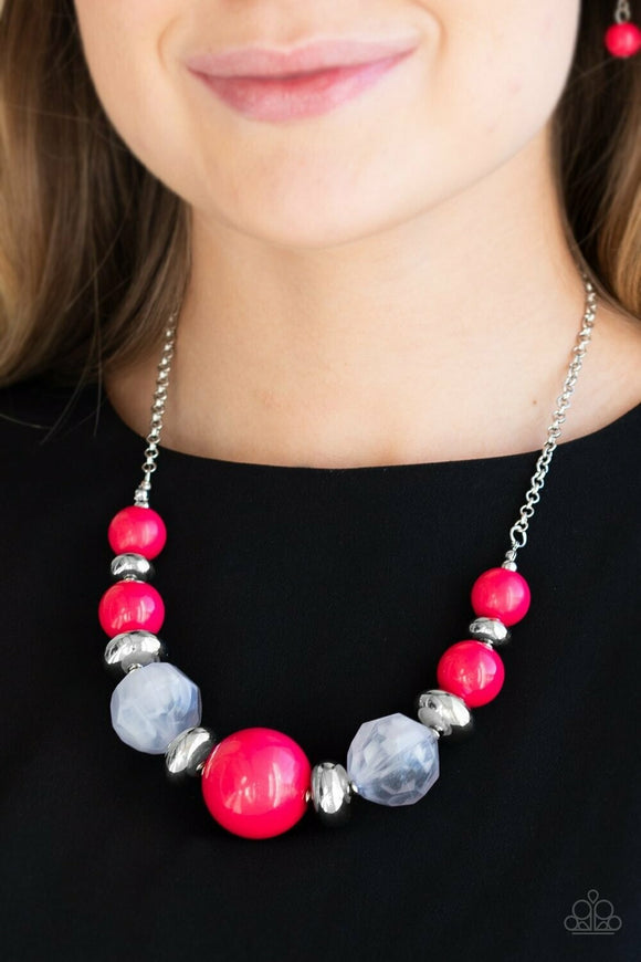 Daytime Drama - Red Necklace