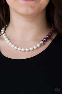 5th Avenue A-Lister - Purple Necklace