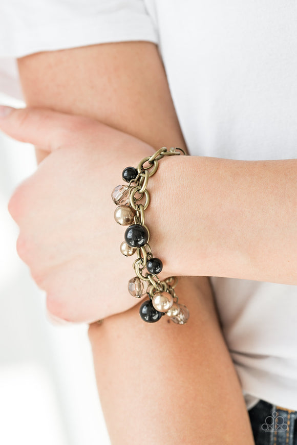 Grit and Glamour - Black Bracelet