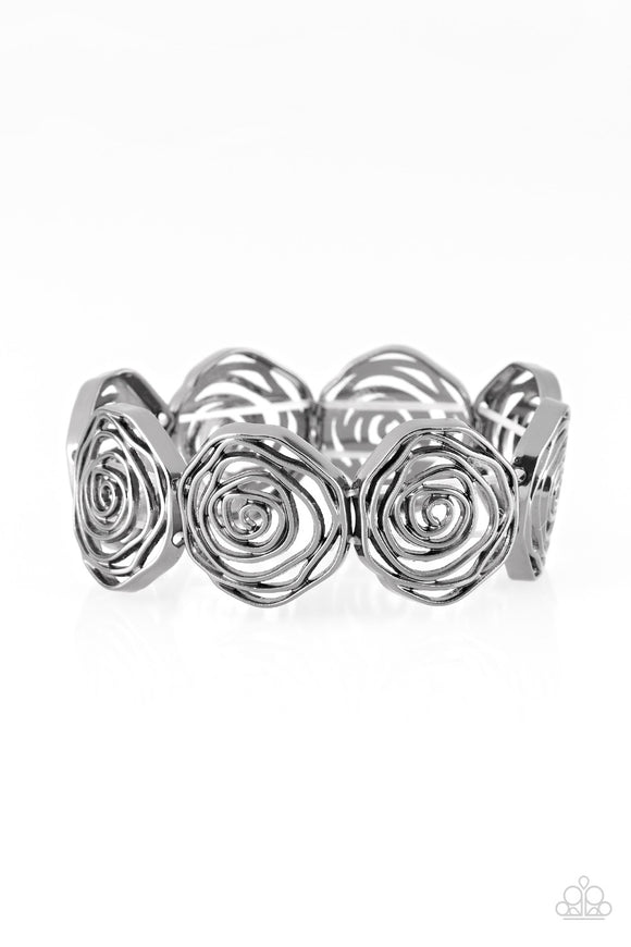 Beat Around The ROSEBUSH Black Bracelet