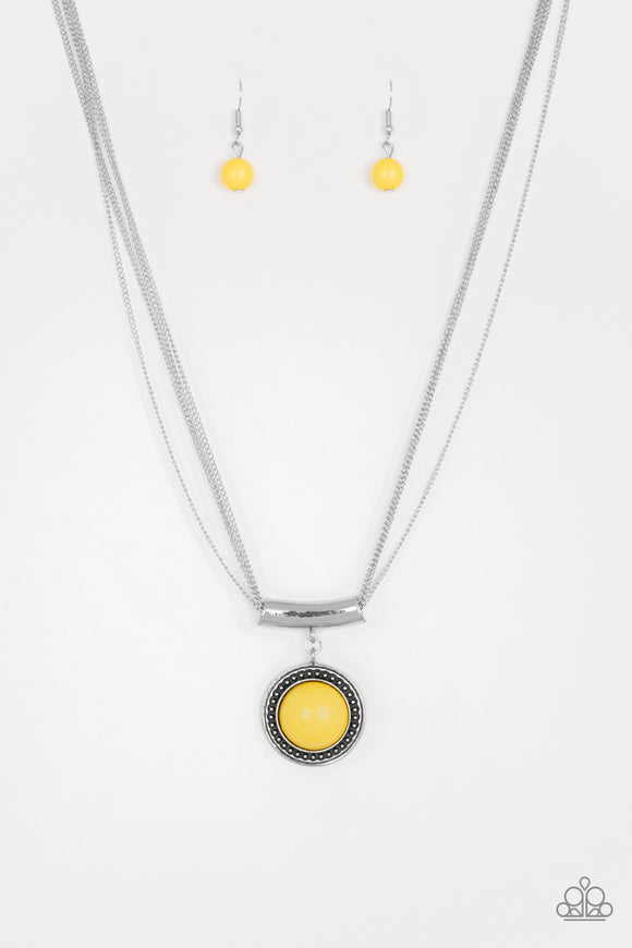 Gypsy Gulf - Yellow Necklace