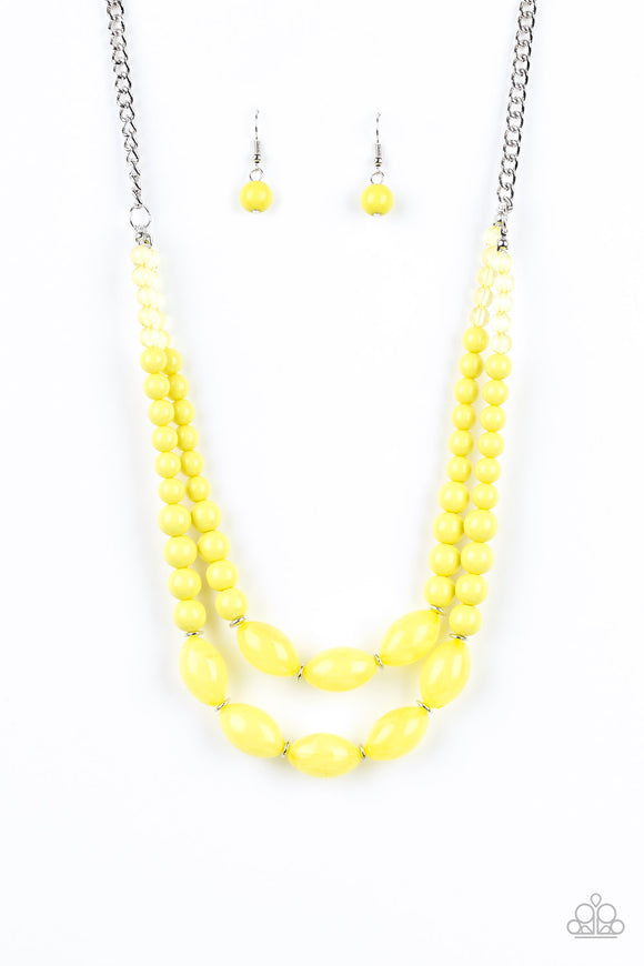 Sundae Shoppe - Yellow Necklace