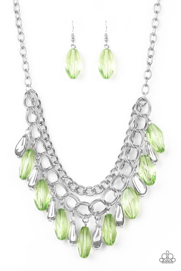 Spring Daydream - Green Necklace
