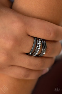 Make A SHEEN - Black Ring