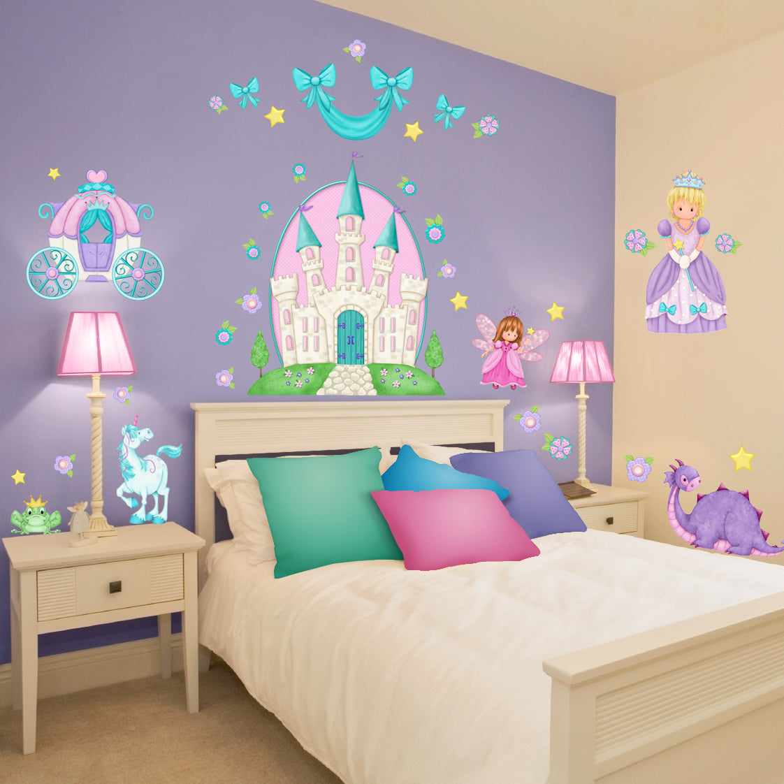 Princess Camryn Wall Decals