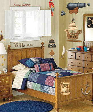 Pirate's Treasure Wall Decals