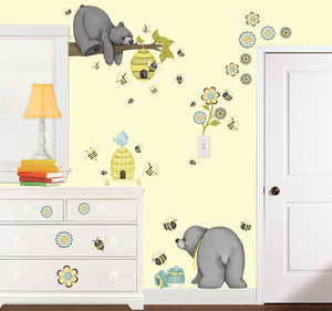 Patchwork Honey Wall Decals