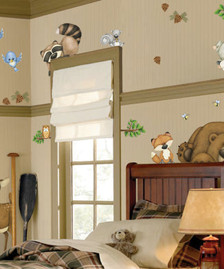 In the Woods Wall Decals