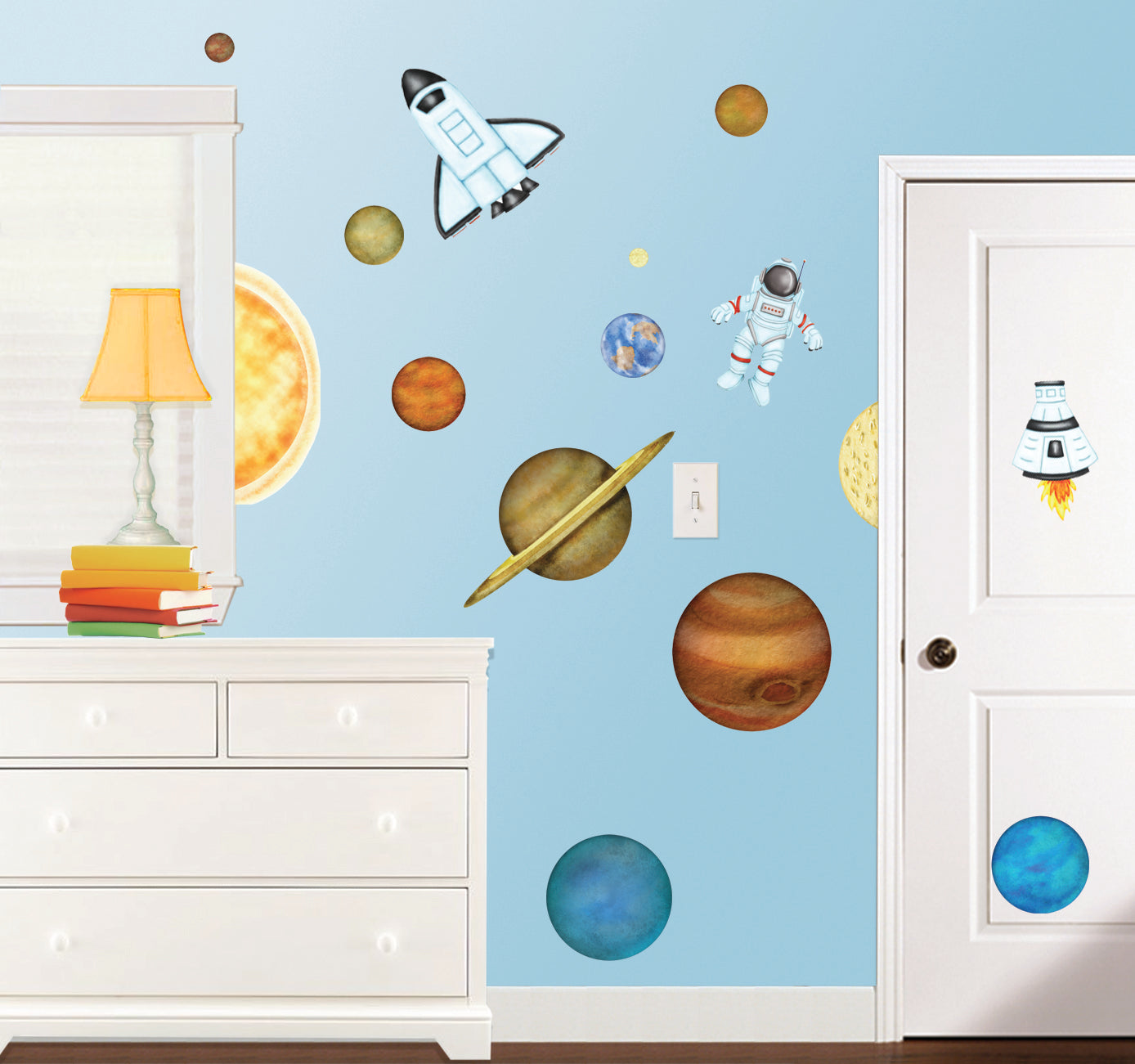 In Outer Space Wall Decals
