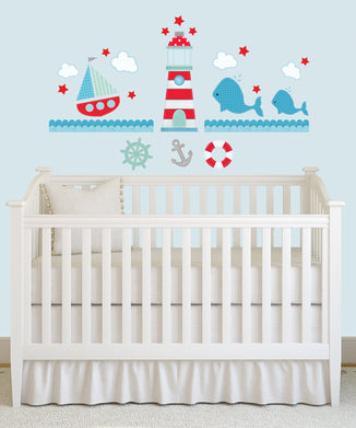 Ahoy! Wall Decals