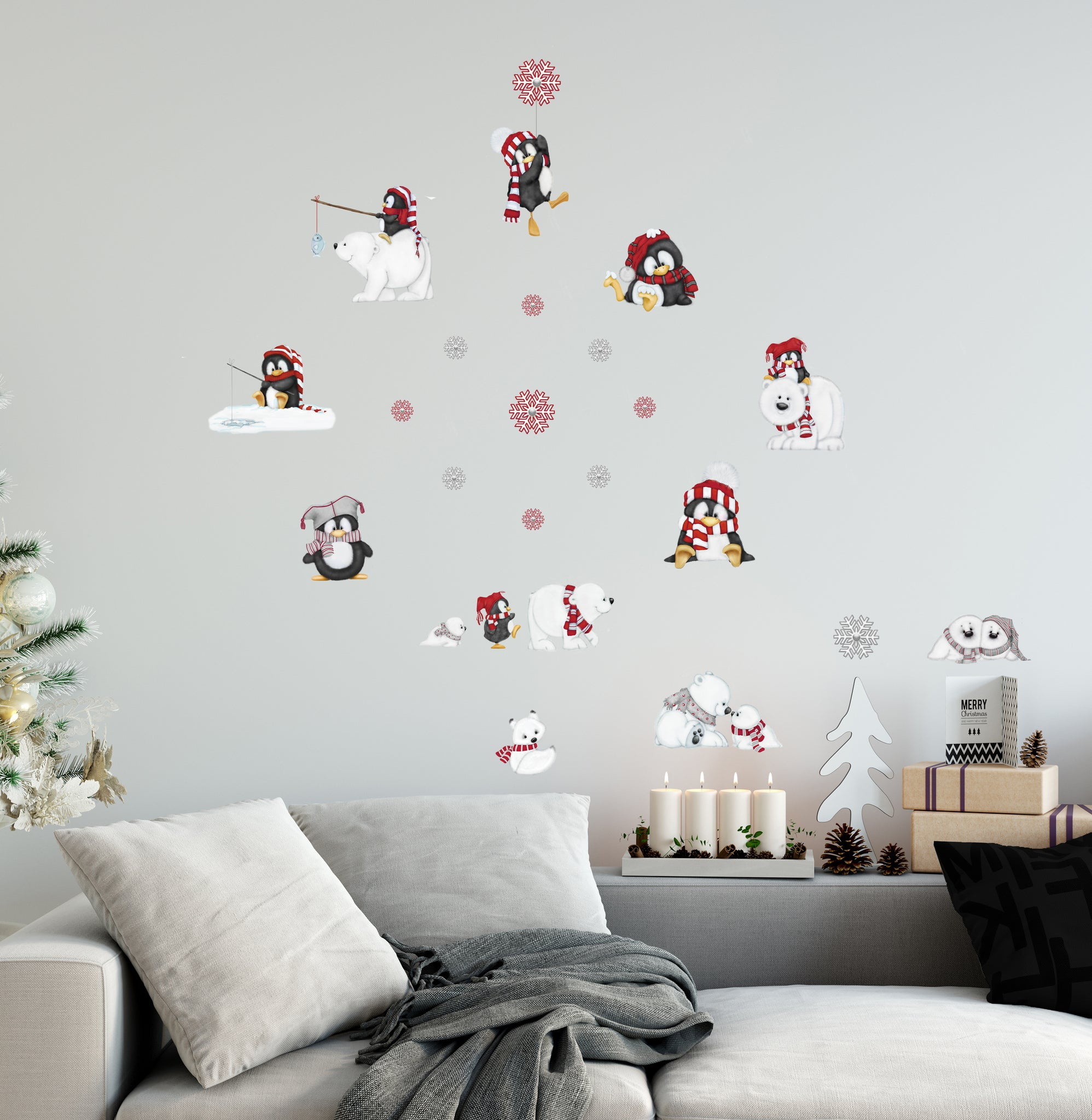 Arctic Antics Decal Set
