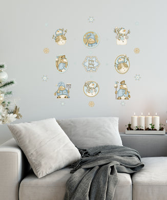 Happy Snowmen Decal Set