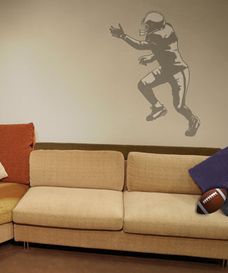 Tackle Sudden Shadow Wall Decal