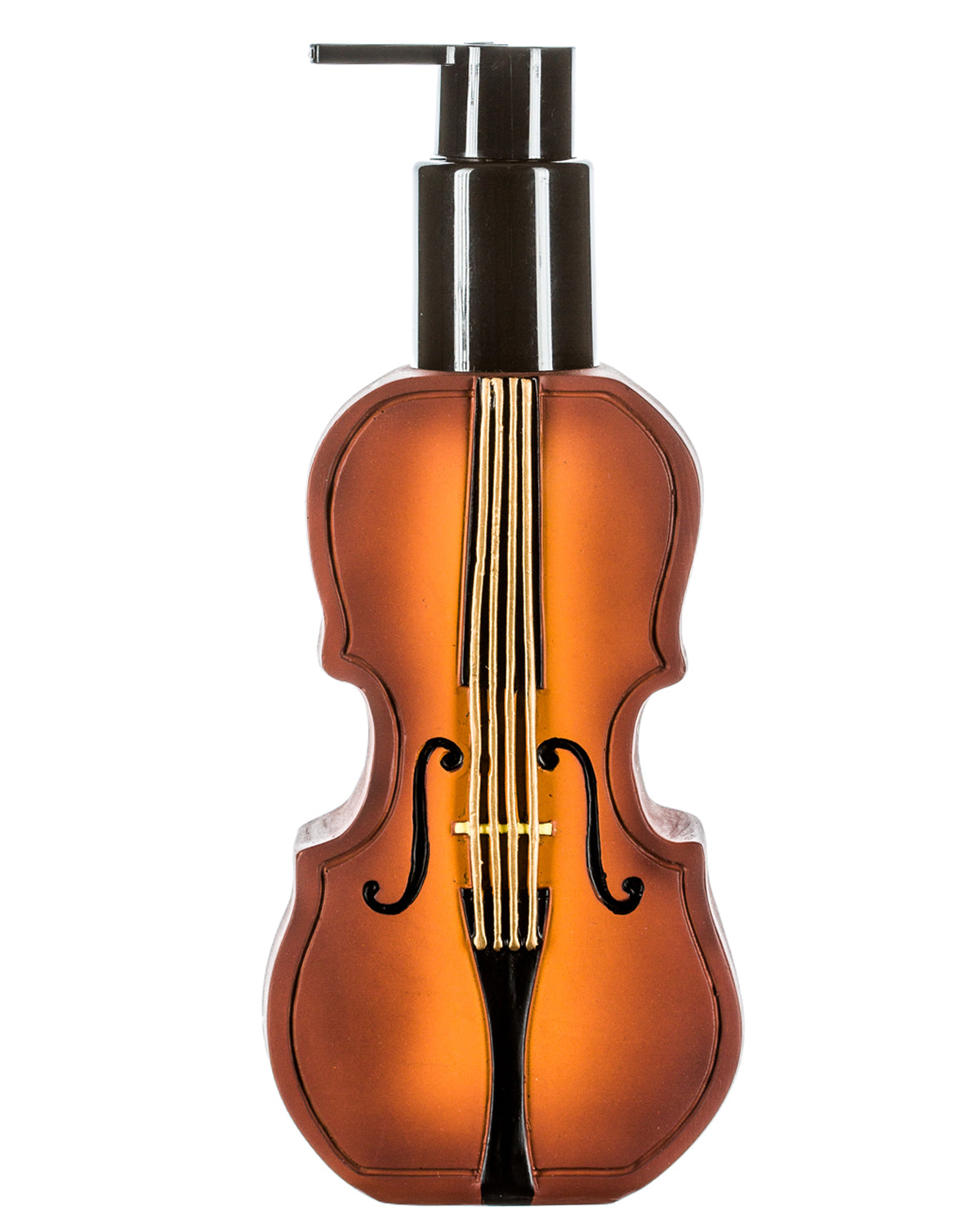 Music Brown Violin Lotion Pump