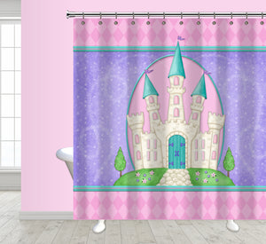 Princess Camryn Shower Curtain